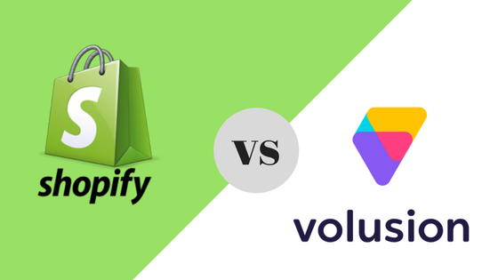 Shopify VS Volusion 1