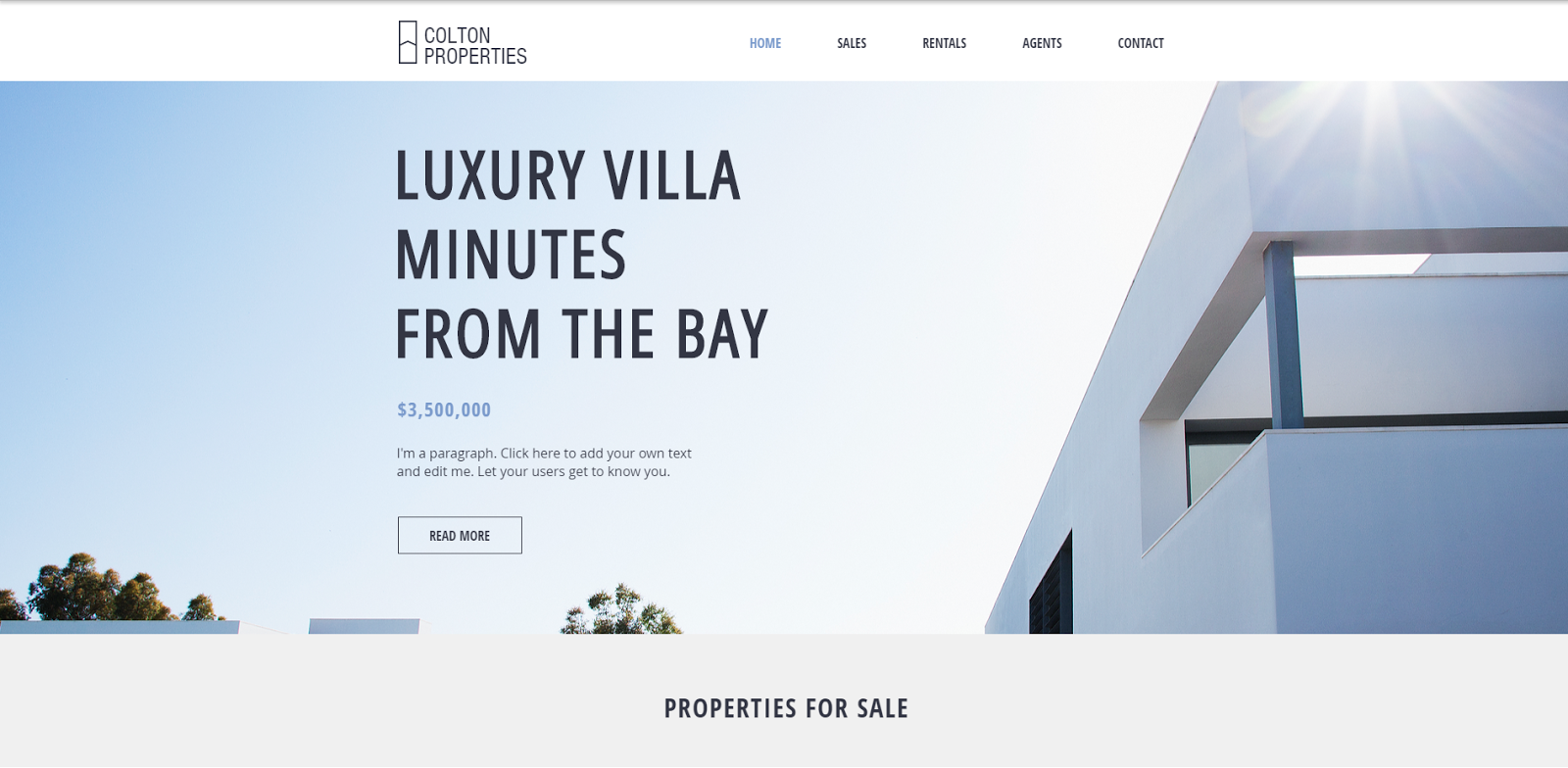 Wix Real Estate Websites: How to Easily Build a Real Estate Website With Wix