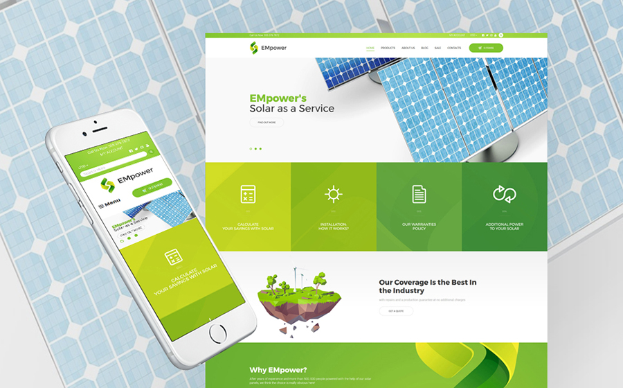 Best Shopify Themes - Empower